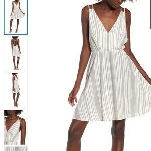BP. | Striped Strappy Swing Dress XXL